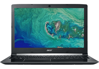 ACER Aspire 5 (A515-51G-52FB), Notebook mit 15.6 Zoll Display, Core™ i5 Prozessor, 8 GB RAM, 256 GB SSD, GeForce® MX150, Schwarz