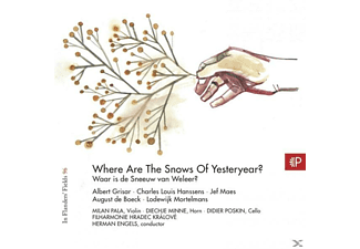 Engels, Herman | Pala, Milan - In Flanders' Fields Vol.96-Where Are The Snows - (CD)