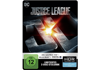 Justice League (exklusives SteelBook®) [4K Ultra HD Blu-ray + Blu-ray]