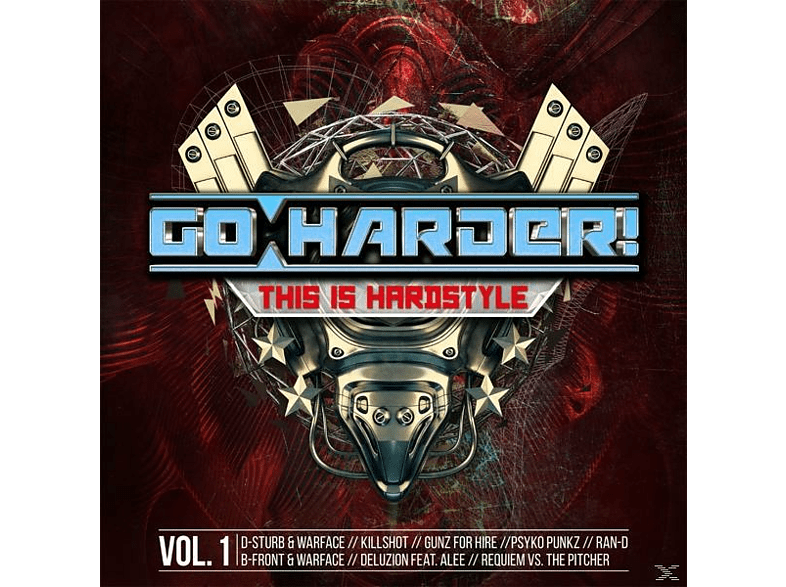 VARIOUS - Go Harder! This Is Hardstyle [CD]