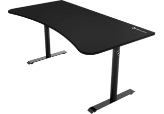 AROZZI ARENA Gaming Desk – Pure Black