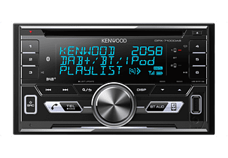 kenwood autoradio dpx 7100dab doppel din mit bluetooth. Black Bedroom Furniture Sets. Home Design Ideas