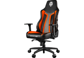 AROZZI Vernazza Gaming Chair (World of Tanks Edition), Gamingstuhl, Orange/Schwarz