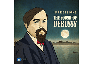 VARIOUS - Impressions:The Sound of Debussy [CD]