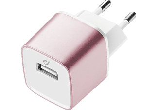 CELLULAR LINE UNIQUE DESIGN USB Akkuladegerät, passend für Apple Universal, Rosé