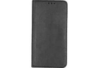 27008 Bookstyle Bookcover Sony Xperia XZ1 Compact Obermaterial Kunstleder Schwarz