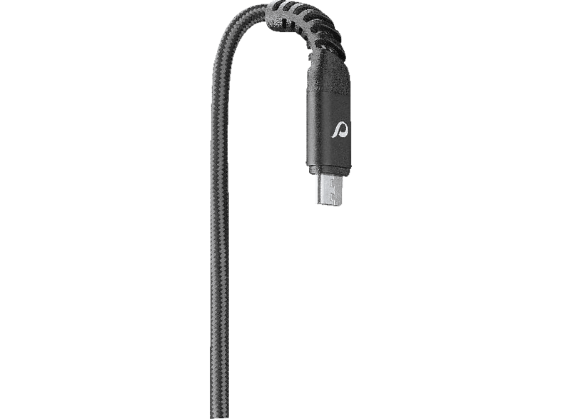 CELLULAR LINE Extreme Cable, Ladekabel, 1.2 m, Schwarz