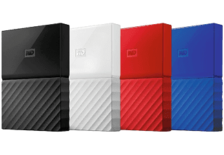 "Disco duro de 3TB - Western Digital My Passport, USB 3.0, 2.5"", Azul"