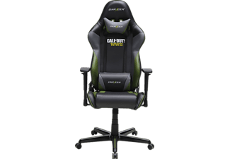 DXRACER Racing R52 Gaming Chair Call of Duty WWII Edition, Gaming Stuhl, Schwarz/Weiß