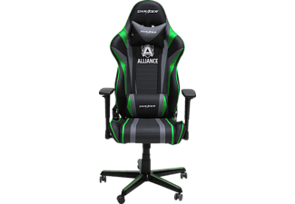 DXRACER Racing R59 Gaming Chair Alliance Edition Gaming Stuhl, Schwarz/Grün