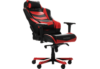 DXRACER Iron I166 Gaming Chair, Black/Red Gaming Stuhl, Schwarz/Rot