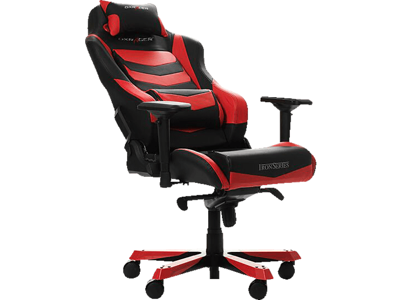 DXRACER DXRACER Iron I166 Gaming Chair Black Red Gaming