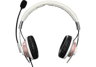 HAMA Style, Stereo-Headset, 2 m, Weiß