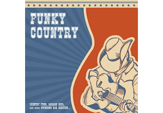 VARIOUS - Funky Country - (Vinyl)