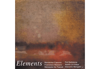 Battstone/Capurso/La Volpe/de Pascali/Mass - Elements - (CD)