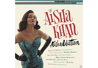 Aisha Khan - Aishaddiction - (CD)