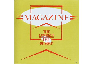 Magazine - The Correct Use Of Soap (LP) - (Vinyl)