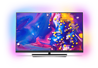 "PHILIPS 55PUS7502/12 55"" Slimmad LED-TV med 4K Ultra och Android TV - Silver"