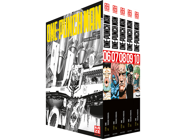 One Punch Man - Band 6-10 (+Schuber)
