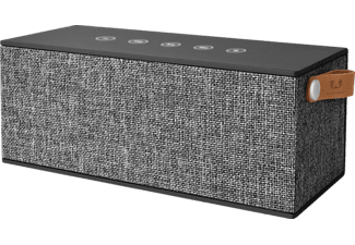 FRESH N REBEL Rockbox Brick XL, Bluetooth Lautsprecher, Ausgangsleistung 2x 10 Watt, Concrete