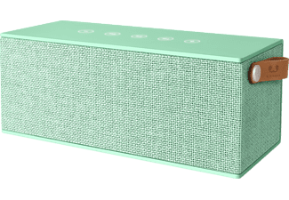 FRESH N REBEL Rockbox Brick XL, Bluetooth Lautsprecher, Ausgangsleistung 2x 10 Watt, Peppermint