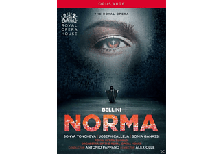 Joseph Calleja, VARIOUS, Royal Opera Chorus, Orchestra Of The Royal Opera House, Sonya Yoncheva, Sonia Ganassi - Norma - (DVD)