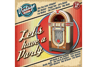 VARIOUS - Let's Have A Party-Vintage Collection - (CD)