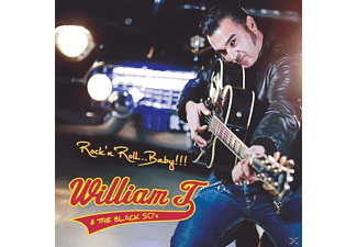 William T & The Black 50's - Rock'n'Roll,Baby!!! - (CD)