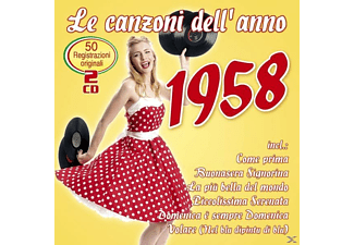 VARIOUS - Le canzoni dell'anno 1958 - (CD)
