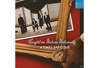 Four Times Baroque - Caught in Italian Virtuosity - (CD)