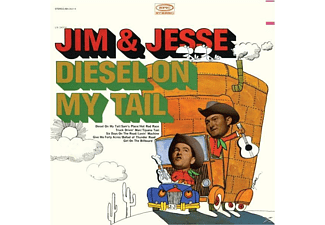 Jim & Jesse - Diesel On My Tail - (CD)