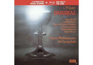 Sir Georg Solti - Parsifal (Ltd.Edt.) - (CD + Blu-ray Disc)