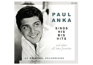 Paul Anka - Sings His Big Hits And Other All-Time Favorites (CD)