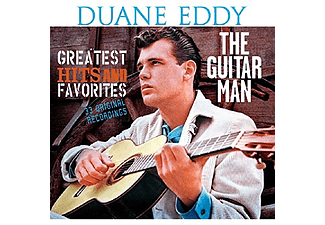 Duane Eddy - Guitar Man: Greatest Hits and Favorites (CD)