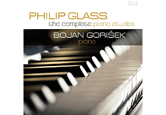 Philip Glass - The Complete Piano Etudes (CD)