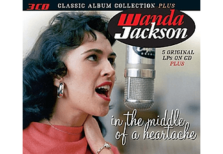 Wanda Jackson - In the Middle of a Heartache (CD)