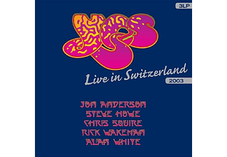 Yes - Live in Switzerland (Vinyl LP (nagylemez))