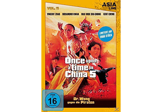 Once Upon a Time in China 5: Dr. Wong gegen die Piraten - Asia Line Vol. 11 - (DVD)