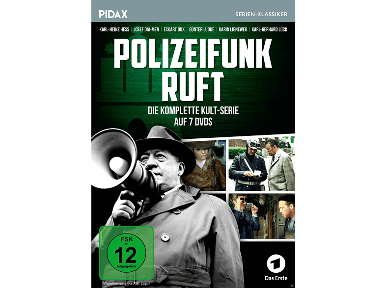 Polizeifunk ruft - Season 1-4 Komplettbox [DVD]