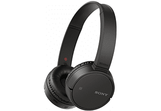 SONY WH-CH500, On-ear Kopfhörer, Near Field Communication, Headsetfunktion, Bluetooth, Schwarz