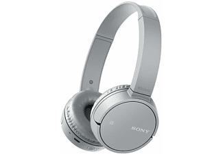 SONY WH-CH500, On-ear Kopfhörer, Near Field Communication, Headsetfunktion, Bluetooth, Grau