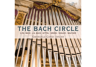Emanuele Cardi - The Bach Circle - (CD)