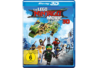 The LEGO Ninjago Movie - (3D Blu-ray)