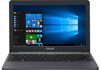 ASUS E203NA-FD088T, Notebook mit 11.6 Zoll Display, Celeron® Prozessor, 2 GB RAM, 32 GB eMMC, HD Graphics 500, Star Grey