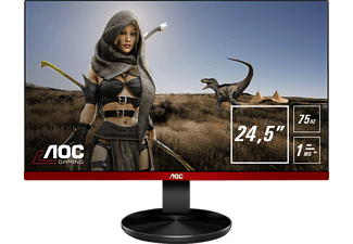 AOC G2590VXQ 24.5 Zoll Full-HD Gaming Monitor (1 ms Reaktionszeit, FreeSync, 75 Hz)