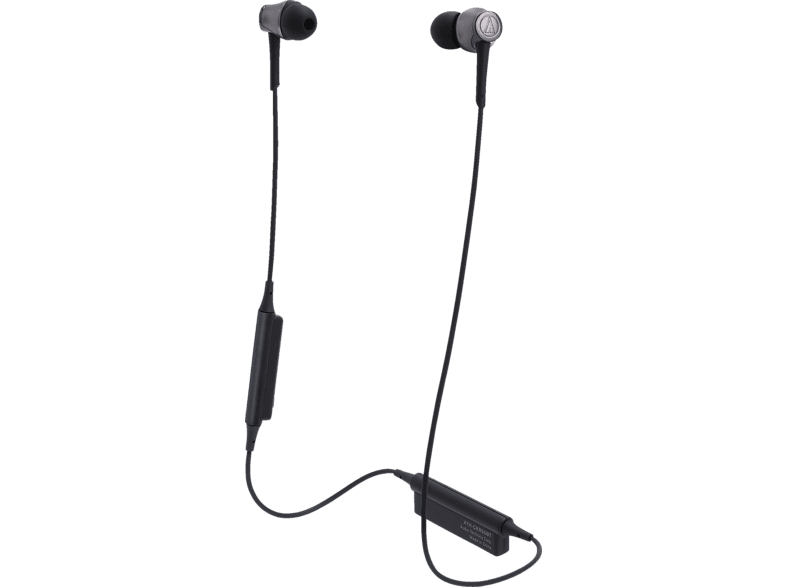 AUDIO-TECHNICA ATH-CKR55BTBK, In-ear Kopfhörer Bluetooth Schwarz
