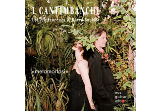 Letizia Fiorenza, David Sautier - I Cantimbanchi-Imagine del cuor - (CD)