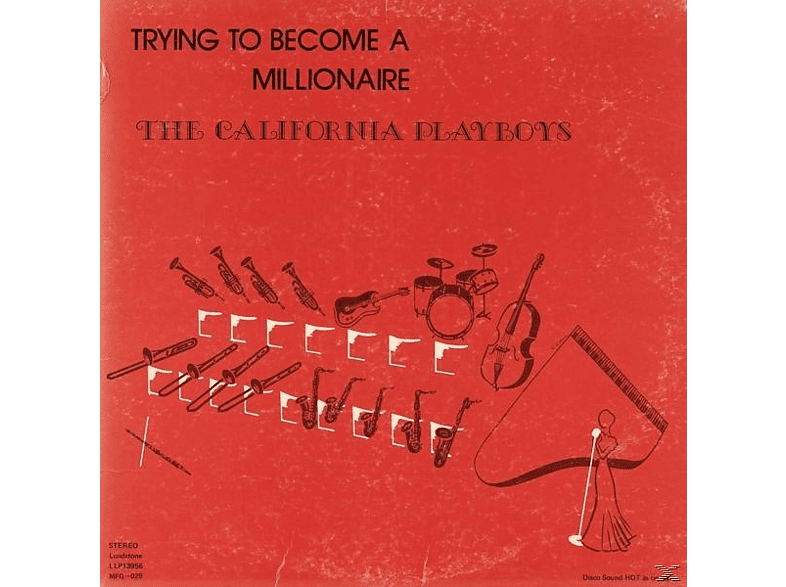 The California Playboys - Trying To Become A Millionaire [Vinyl]