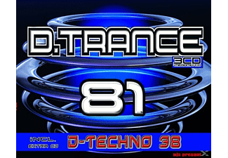 VARIOUS - D.Trance 81 (Incl.D.Techno 38) - (CD)