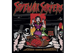 Sidewalk Surfers - Dinner For Sinners - (CD)